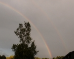 Double rainbow at gomde